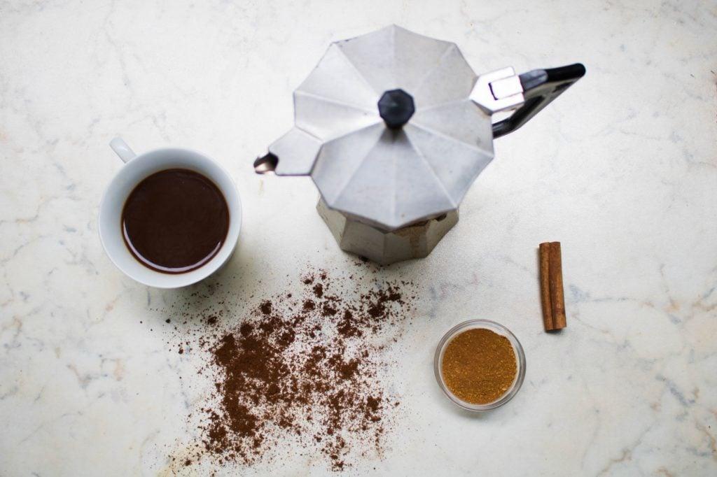 coffee brewing kit