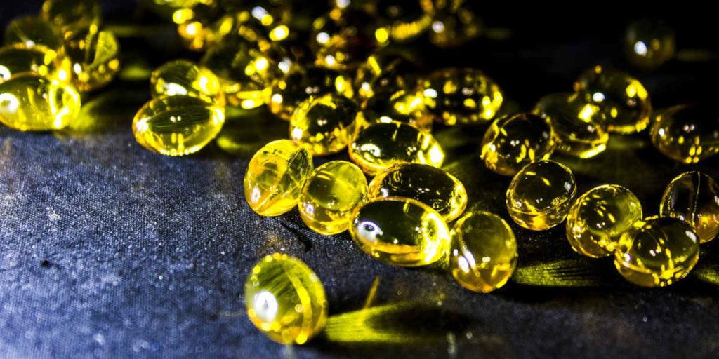 omega 3 visolie gel capsules